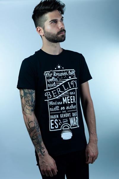 """Shirt """"BAM Lyrics"""" Jungs"""
