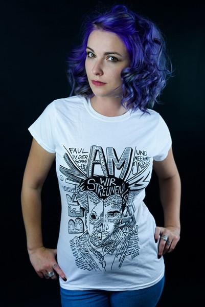 """Shirt """"BAM - Splitface"""" Mädels"""